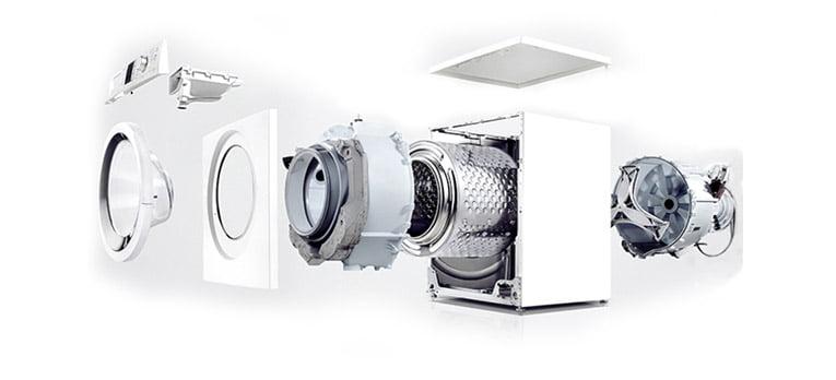 Masina de spalat rufe Arctic AED8000A+++